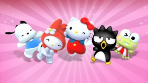 Characters in The Adventures of Hello Kitty and Friends for Wallpaper
