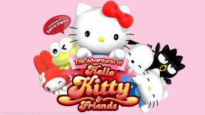 Free Download of The Adventures of Hello Kitty and Friends Wallpaper