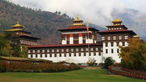 Bhutan Tourism from India Series with Tashichho Dzong