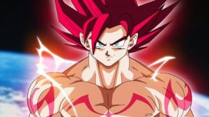 Dragon Ball Super Saiyan Level 1 Character for Wallpaper