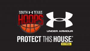 South Texas Hoops and Under Armour Logo for Wallpaper