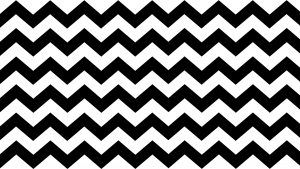 Black And White Zig Zag Wallpaper in 4K