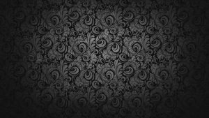 Black dark Floral Wallpaper for Desktop Background and Walls