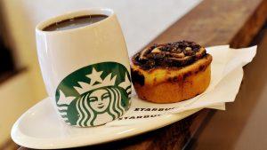 Cute Starbucks and Cake in HD 1080p