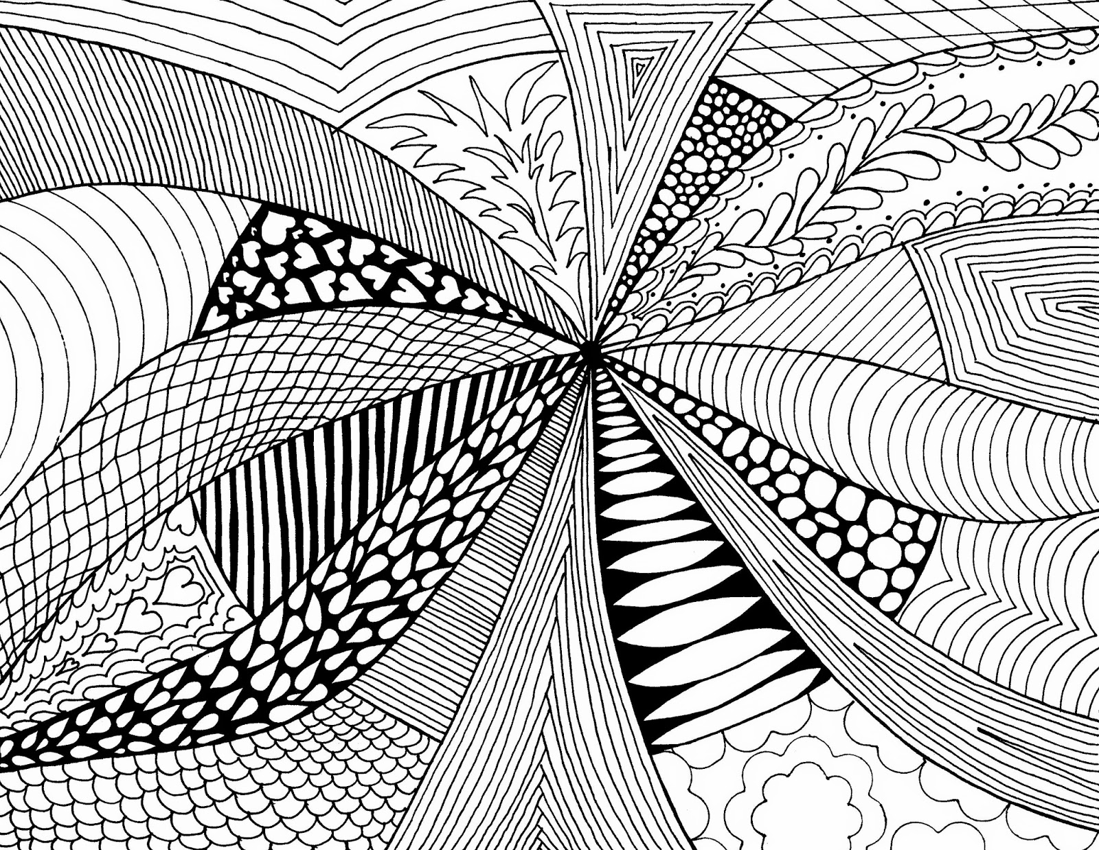 Examples Of Abstract Art Drawings In Simple Design HD