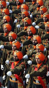 Indian Sikh Regiment Army Wallpaper for Mobile Phone