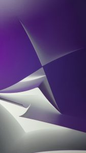 Samsung Galaxy C7 Wallpaper with Abstract Purple and Silver Lights