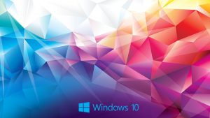 Windows 10 Wallpaper Abstract 3D Colorful Polygon