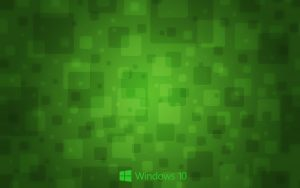 Windows 10 Wallpaper Green