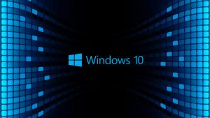 Windows 10 Wallpaper HD 3D For Desktop Black