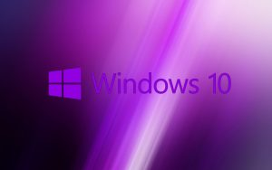 Windows 10 Wallpaper Purple