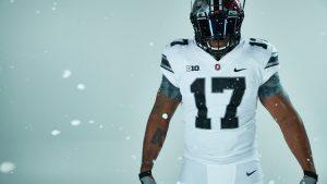 Nike Wallpaper with Ohio State Buckeyes Alternate Uniform