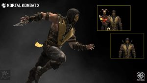 Picture of Scorpion From Mortal Kombat Costume