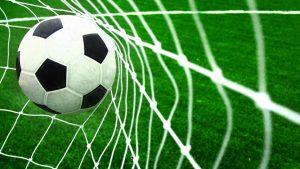 Pics of Soccer Ball on Net