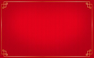 Red Chinese Wallpaper Designs 19 of 20 with Honeycomb Pattern