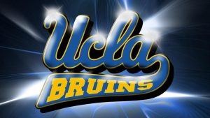 UCLA Desktop Wallpaper with Abstract Light