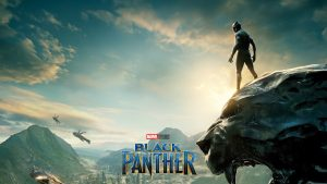 Black Panther Movie Poster Wallpaper for Desktop Background