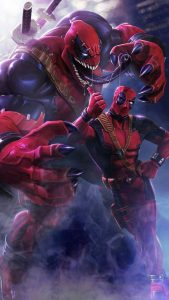 Deadpool Venom Picture for Mobile Phone Wallpaper