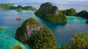 Natural Images HD 1080p Download with Wayag Island in Raja Ampat