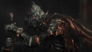 4K Black Wallpapers for Windows 10 - #06 of 10 - Dark Souls of Warrior