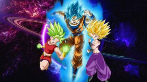 Best 20 Pictures of Dragon Ball Z - #05 - Goku Super Saiyan Blue and Team Universe 6 Female Saiyans