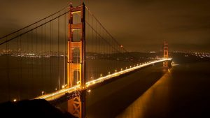 Civil Engineering Desktop Wallpaper in HD 1080p - 01 of 10 - Bridge on Night