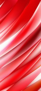 Oppo Find X Wallpaper with Abstract Red and White Background