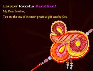Happy Raksha Bandhan WhatsApp Status with Message