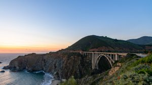 High Resolution Wallpaper with Beautiful View of Bixby Creek Bridge in Monterey