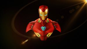 Alternative Desktop Background with Iron Man HD Wallpaper
