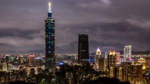 Best City Night View of Taipei - Taiwan