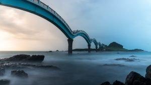 Best Photo of Sanxiantai Dragon Bridge - Taiwan