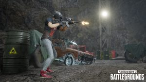 PUBG Wallpaper Full HD – Playerunknown's Battlegrounds Player with MK47 Mutant