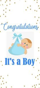 Congratulations Images Free Download for New Baby Boy Born
