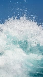 Beach Wallpaper for iPhone - 08 - Splash Wave