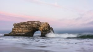 Beautiful Nature Wallpaper Big Size #50 – Low Exposure Photo of Natural Bridges State Beach