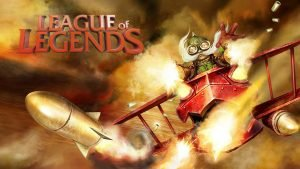 League of Legends Wallpaper 1920x1080 - 08 - Corki the Daring Bombardier