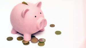 Money Wallpaper 26 of 27 – Piggy Bank with Coins