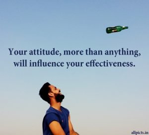 20 Best Wednesday Thought Quotes for Work 01 - Your attitude more than anything