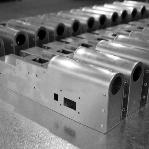 Laser Cutting Components Fabricated and Assembled