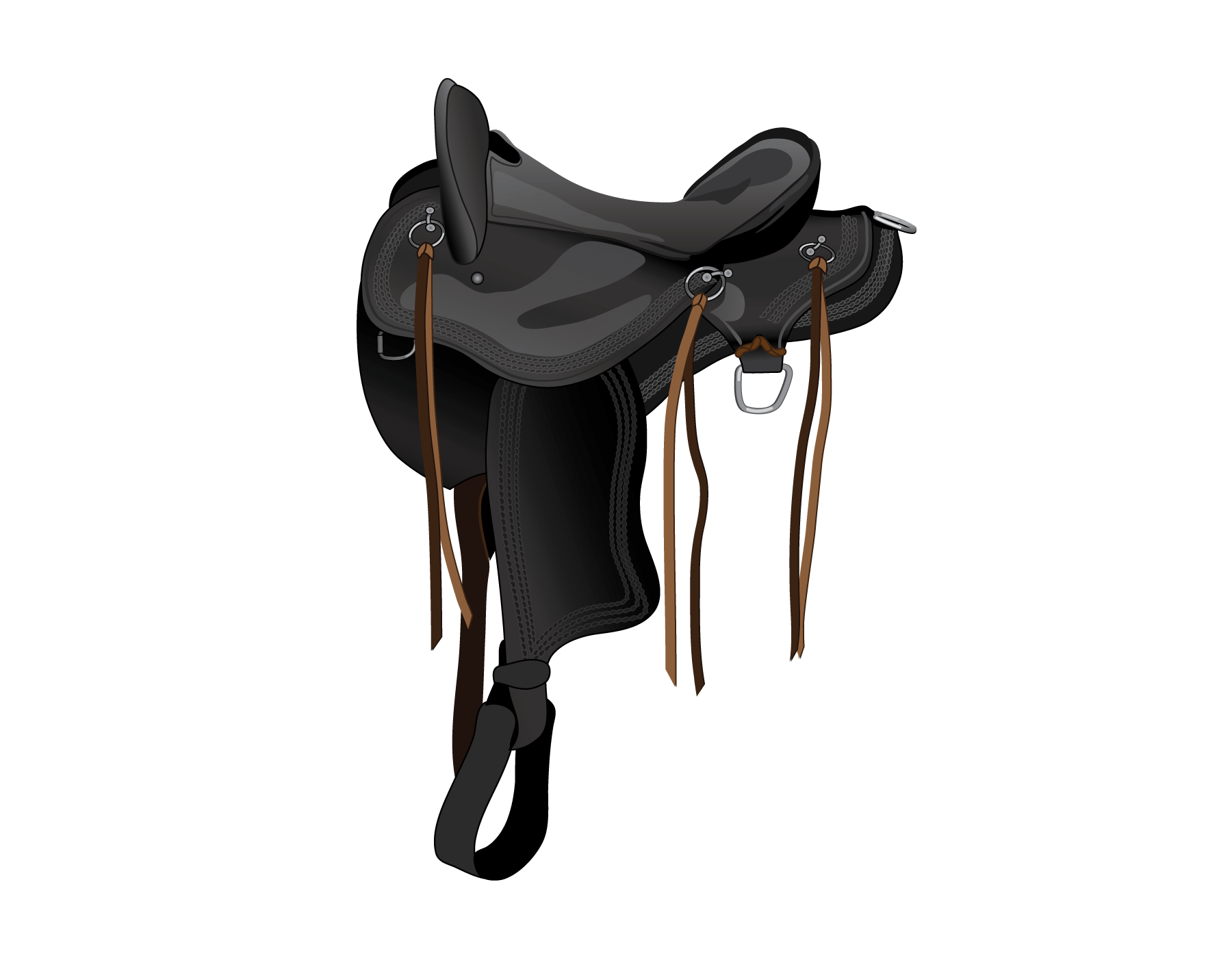Identify Horse Saddle Types Play the Name the Saddle Parts ...