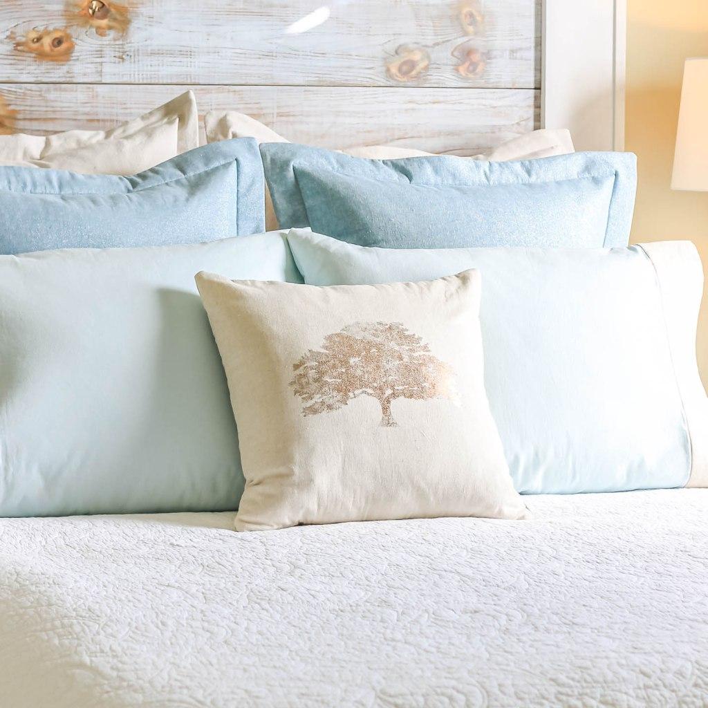 Modern Farmhouse Bed Pillows
