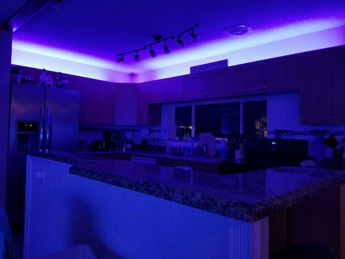 led lighting customized in home