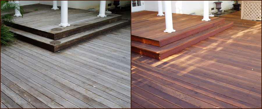 Allpro Deck Restoration - get your deck looking like new again.