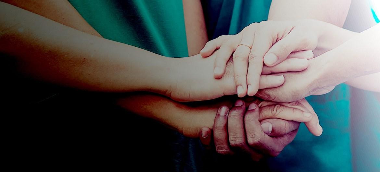 Healthcare Influencer Program - hands coordinating