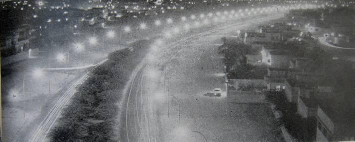 إنتشار إنارة الشوراع في الكويت في الستينات