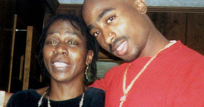 Afeni Shakur And Tupac Shakur image