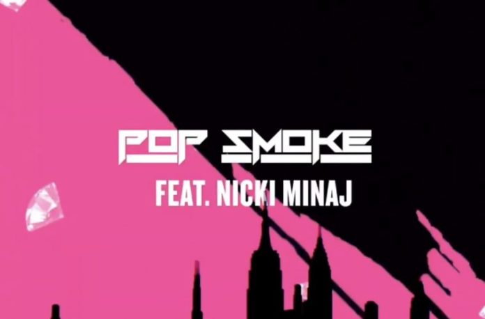 Nicki Minaj Pop Smoke Welcome To The Party Remix image