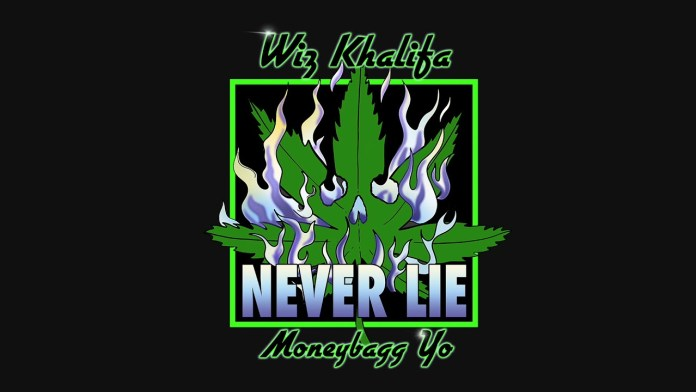 Wiz Khalifa Moneybagg Yo Never Lie Single image