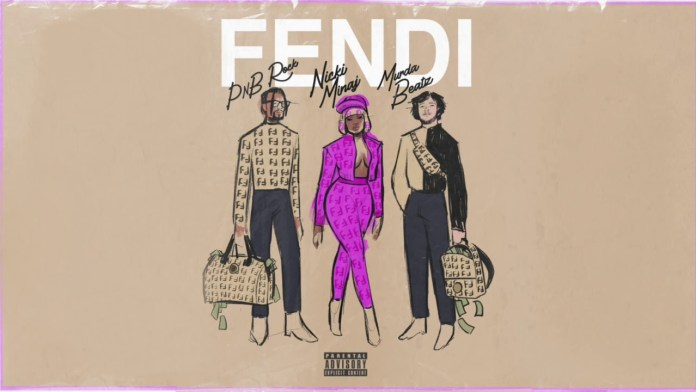 PnB Rock Nicki Minaj Murda Beatz Fendi cover image